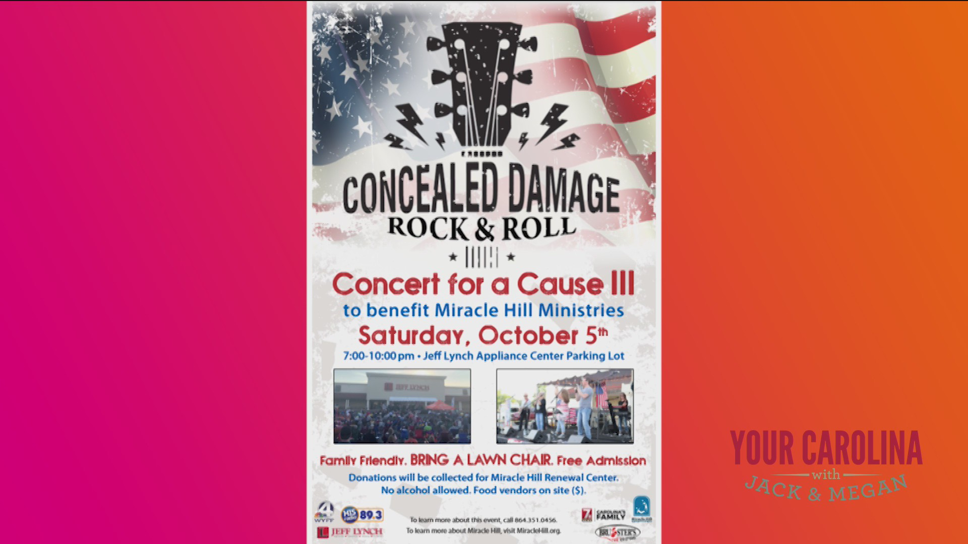 Concert for a Cause Fundraiser