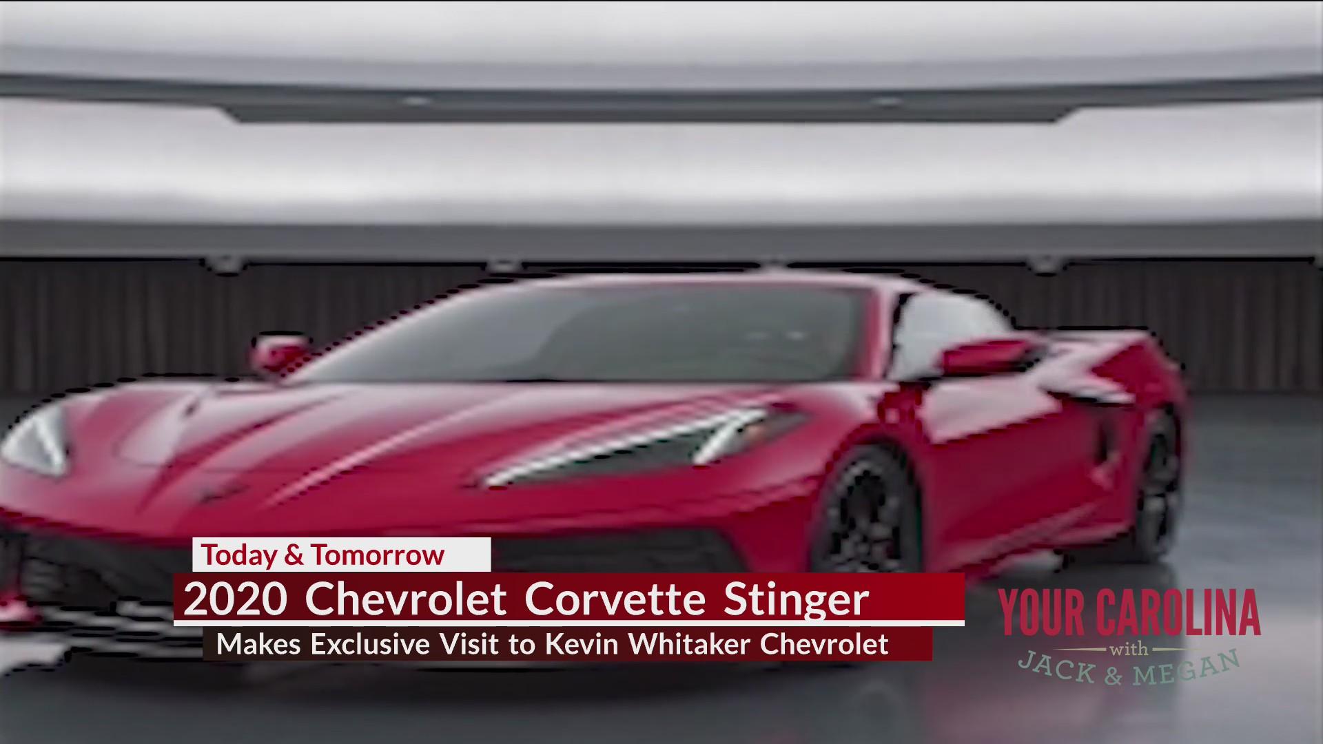 2020 Chevrolet Corvette Stinger Makes Exclusive Visit To Kevin Whitaker Chevrolet