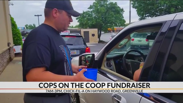 Greenville police raising money for Special Olympics