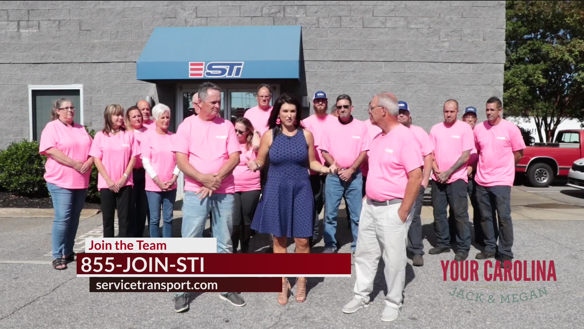 STI Supporting Breast Cancer Awareness