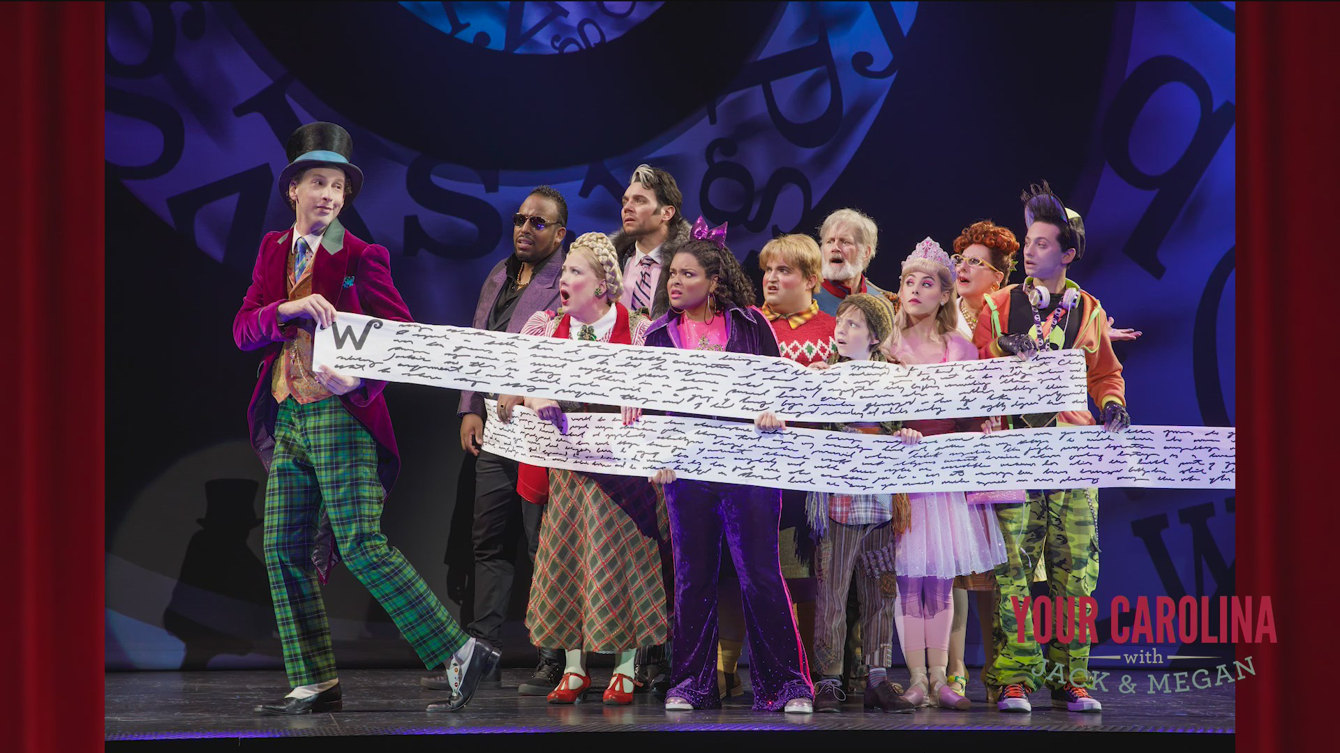 Charlie and the Chocolate Factory Now Playing at the Peace Center