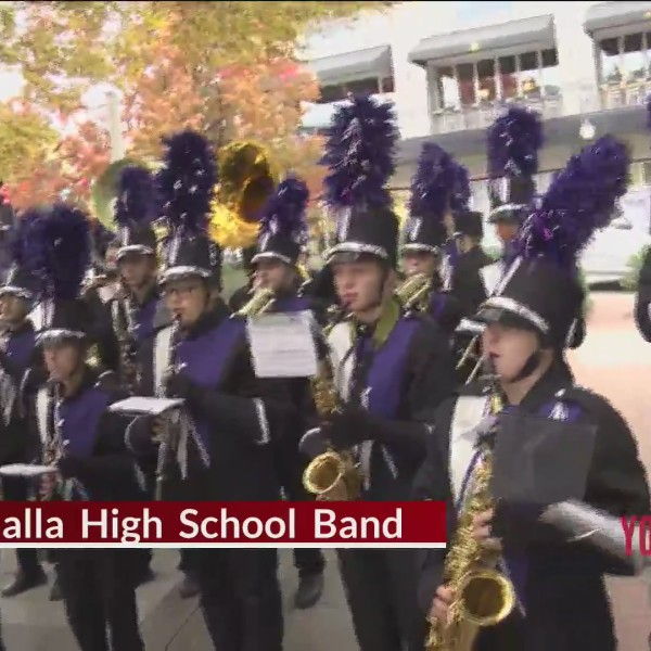 Walhalla High School Band Plays Us Out Of The Show