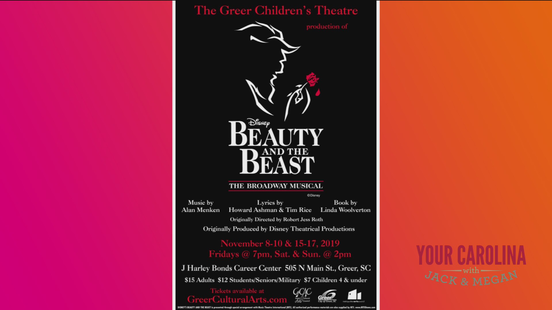 Beauty and the Beast Is Coming To Town