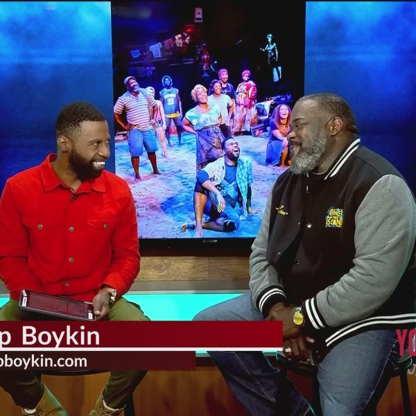 Jamarcus Sits Down With Phillip Boykin Starring in Once On This Island