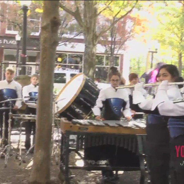 Polk County High School Band Plays Us Out Of The Show