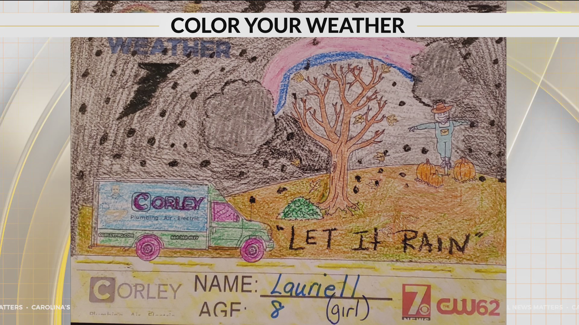 Here is the latest Color Your Weather art from Lauriell.