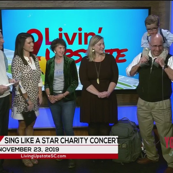 Sing Like A Star Charity Concert on Nov. 23 to benefit Make-A-Wish SC