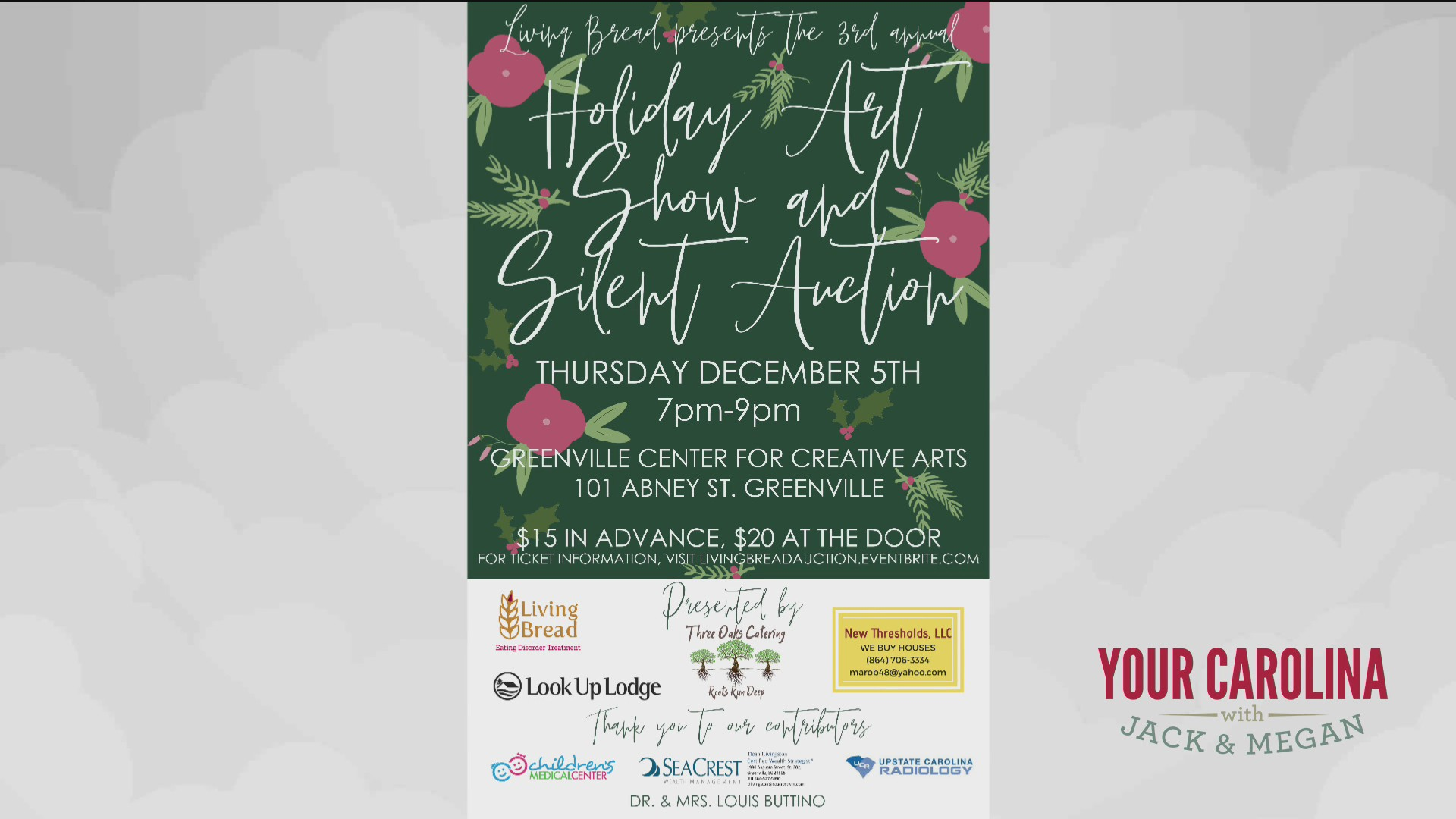 Living Bread - Art Show And Silent Auction