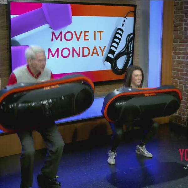 Move It Monday - Red Effect Infrared Fitness