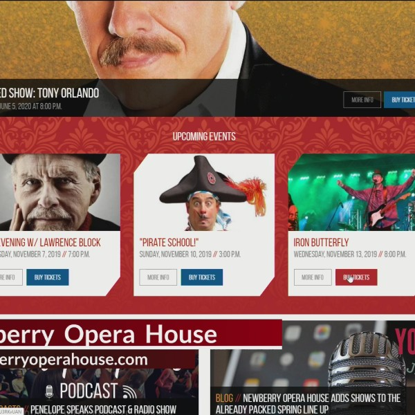 Coming Up At The Newberry Opera House In November