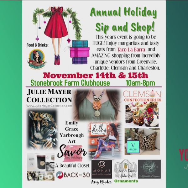 6th Annual Holiday Sip & Shop