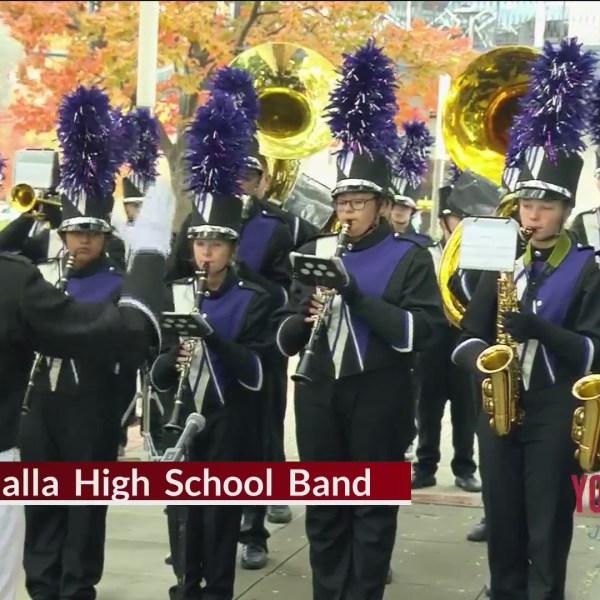 Marching Band Friday - Walhalla High School Band