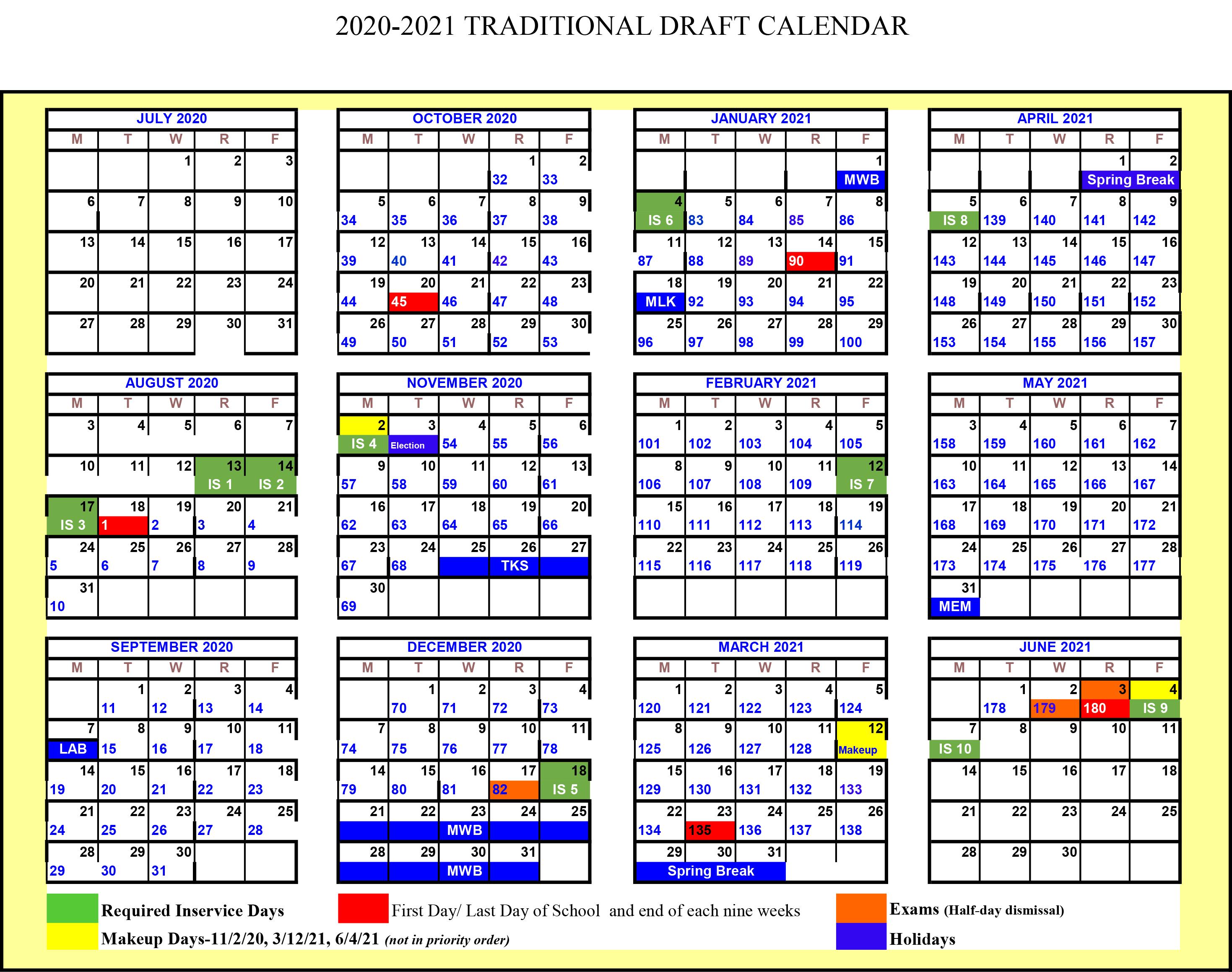 South Carolina School Calendar 2021-2022 Wallpaper