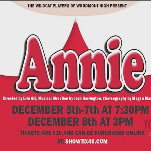 Annie the Musical Presented By Woodmont High School