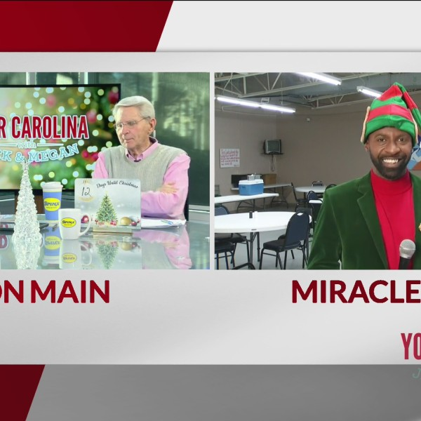 Jamarcus Joins Us Live From Miracle Hill Ministries In Spartanburg
