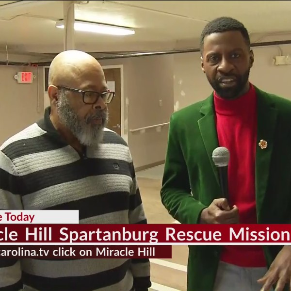 We Check Back In With Jamarcus At Miracle Hill In Spartanburg