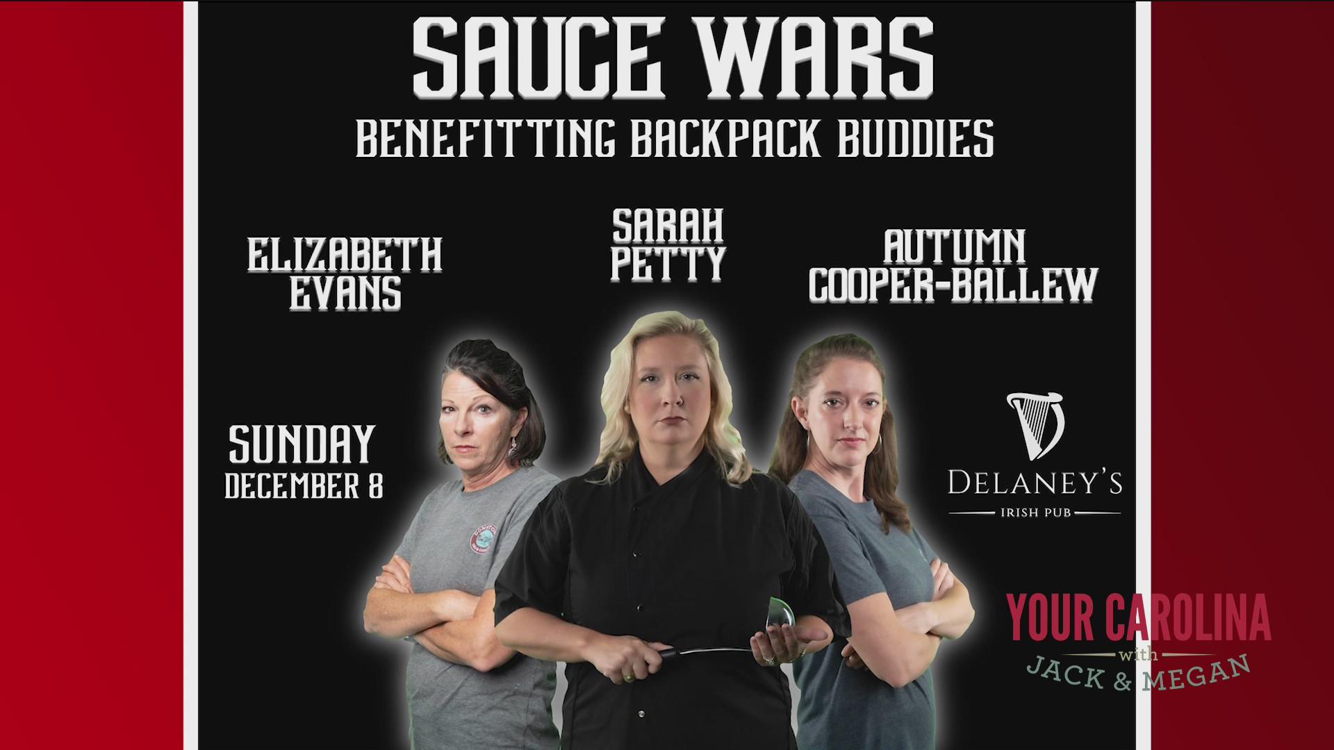 Sauce Wars For Back Pack Buddies