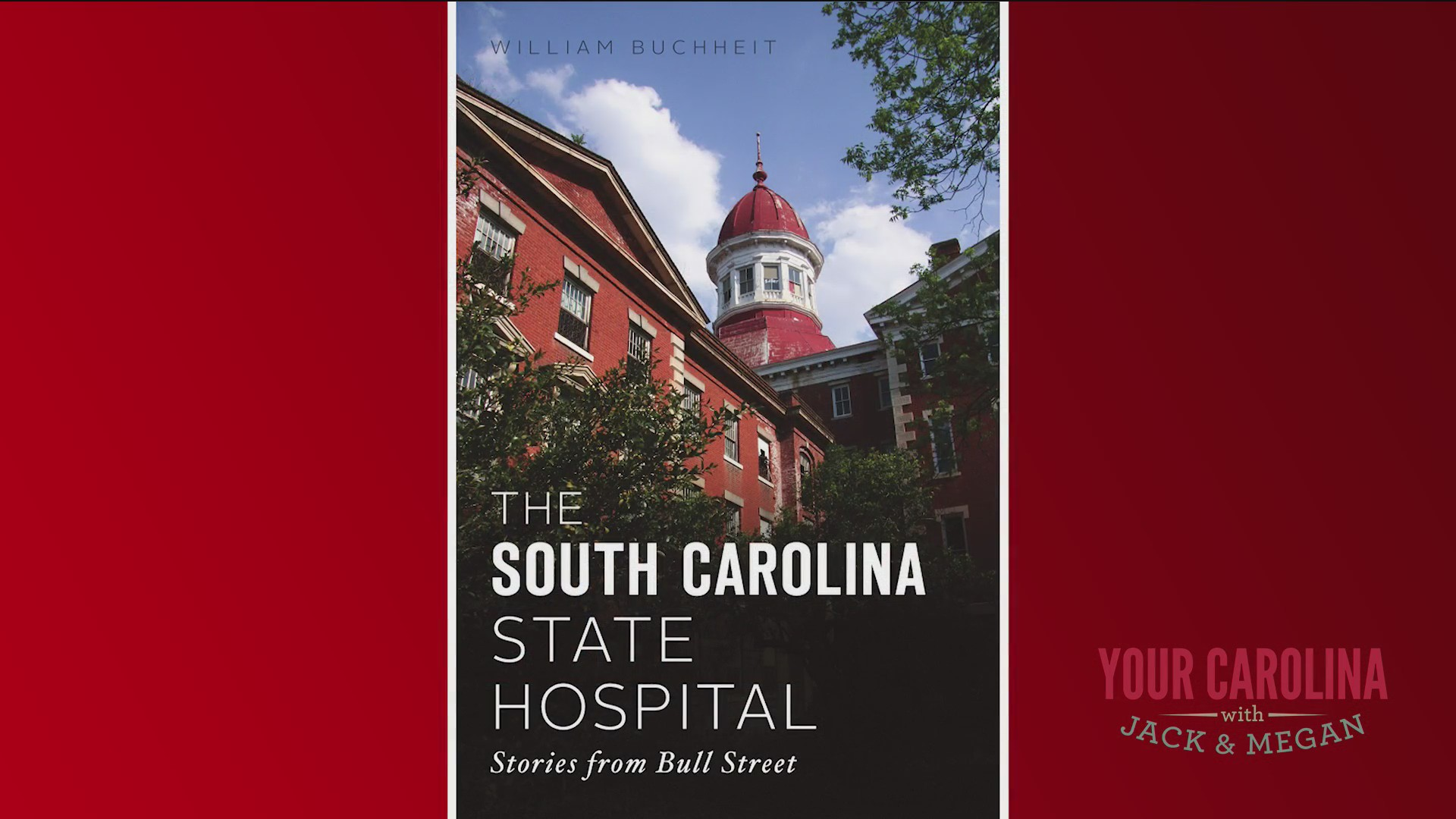 Local Author Has Written Book About Old State Hospital On Bull Street