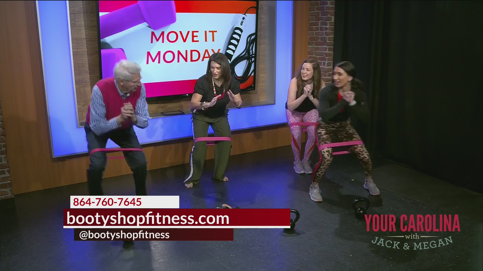 Move It Monday - Booty Shop