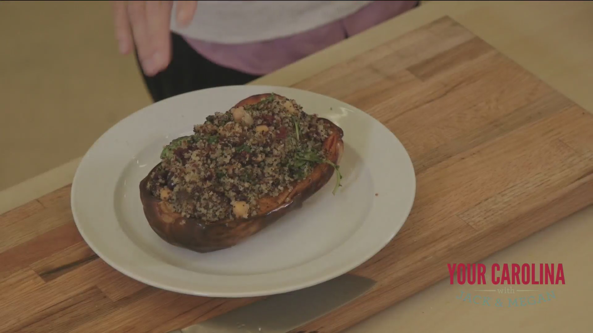 Chef's Kitchen - Stuffed Butternut Squash
