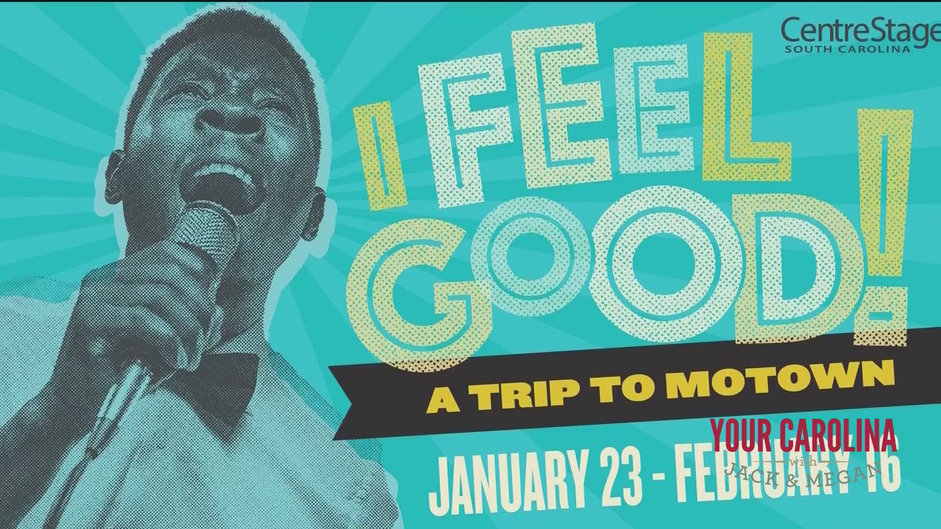 """Centre Stage Presents """"I Feel Good: A Trip to Motown"""""""