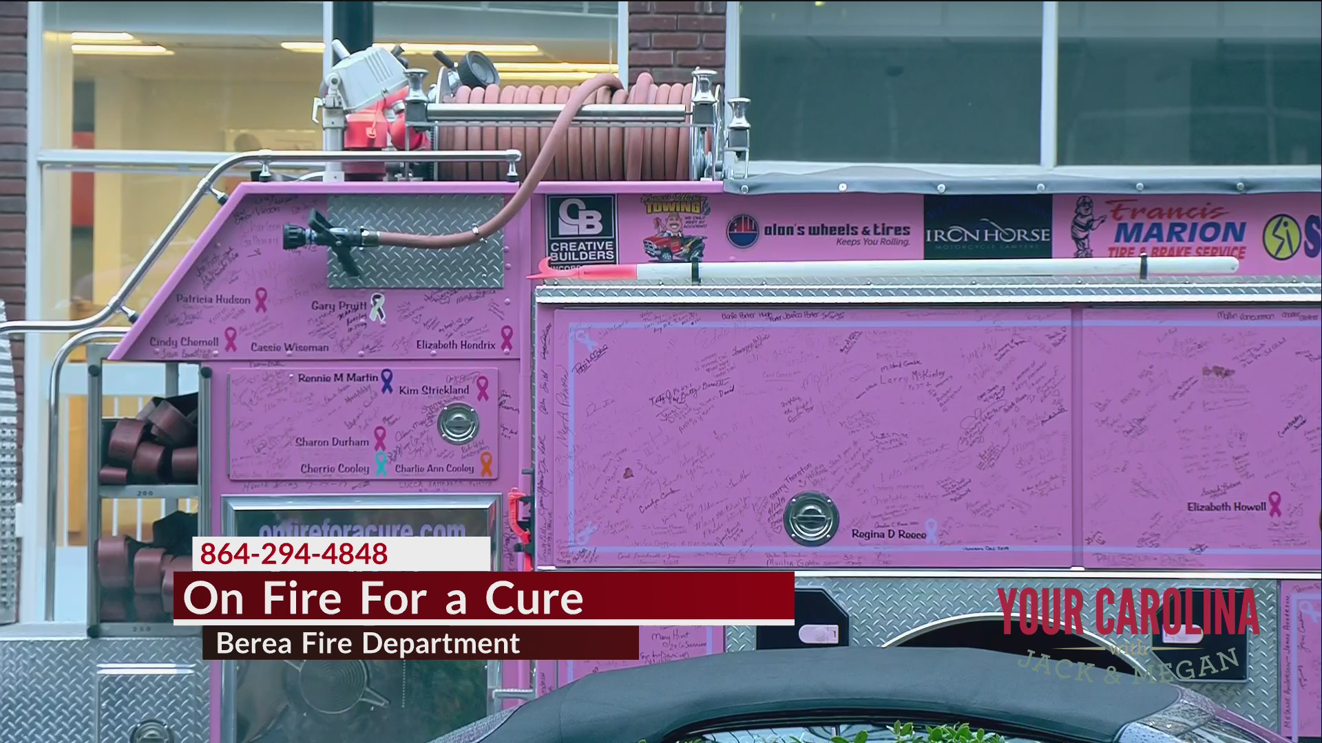On Fire For a Cure