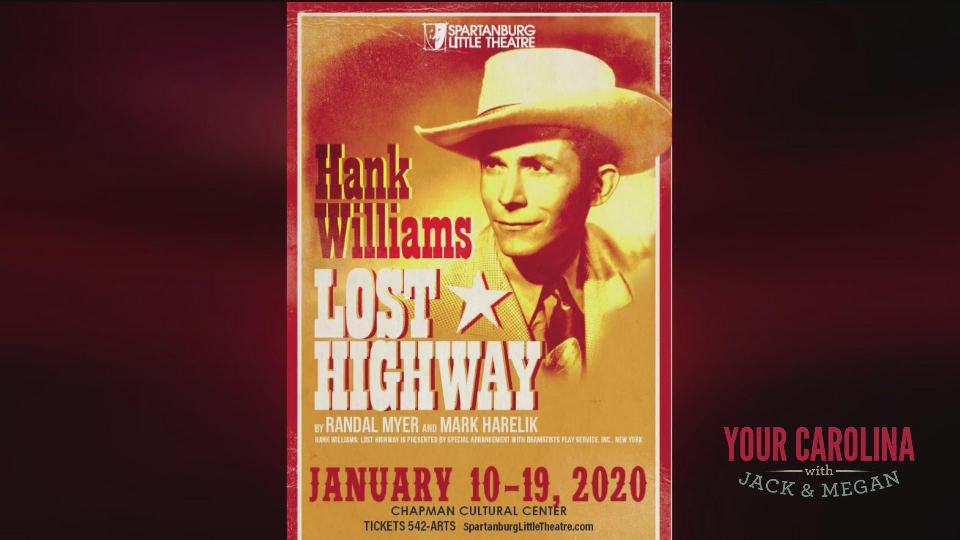 "Spartanburg Little Theatre is presenting ""Hank Williams: Lost Highway"""