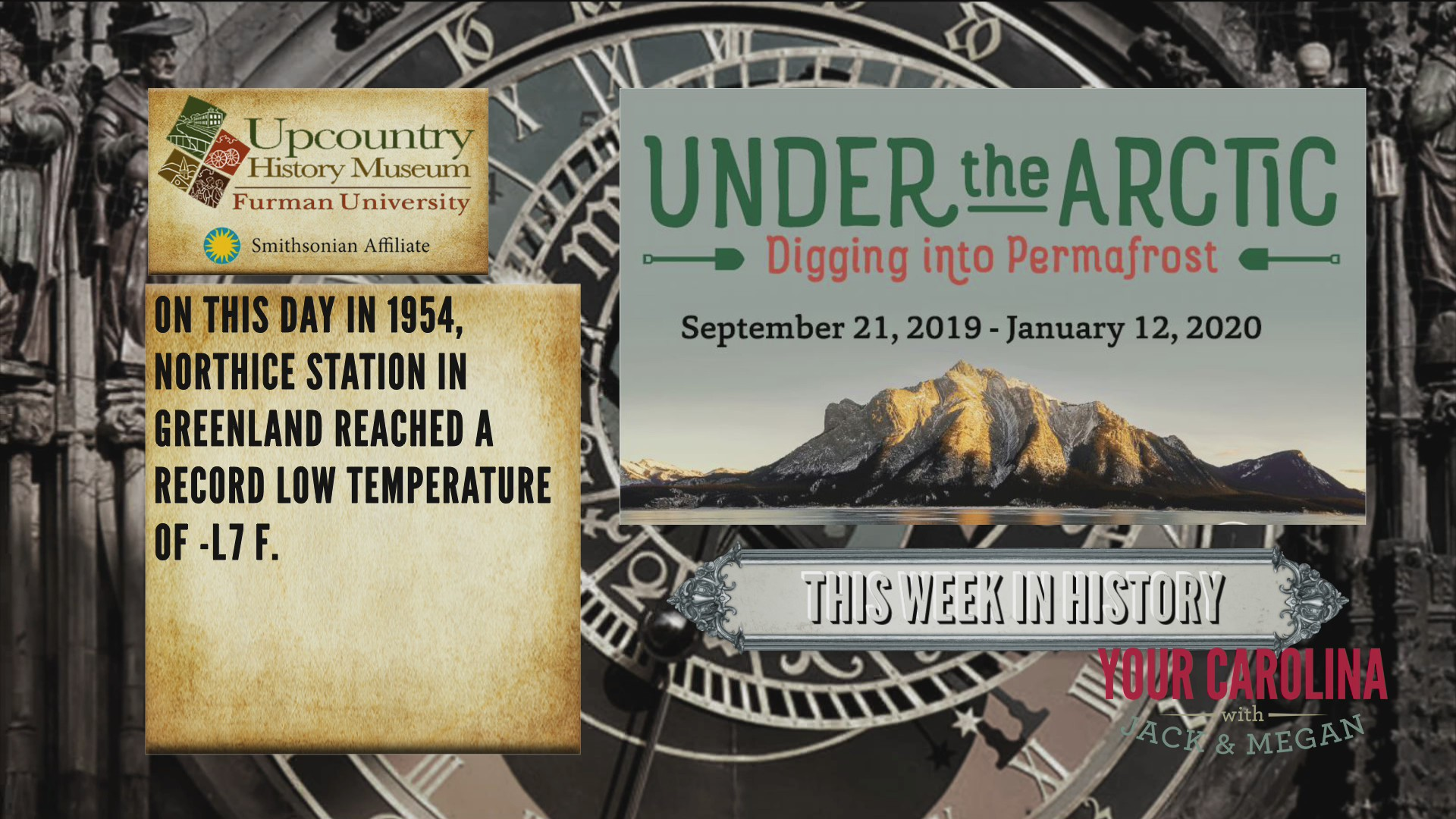 This Week In History - Greenland Reached Record Low