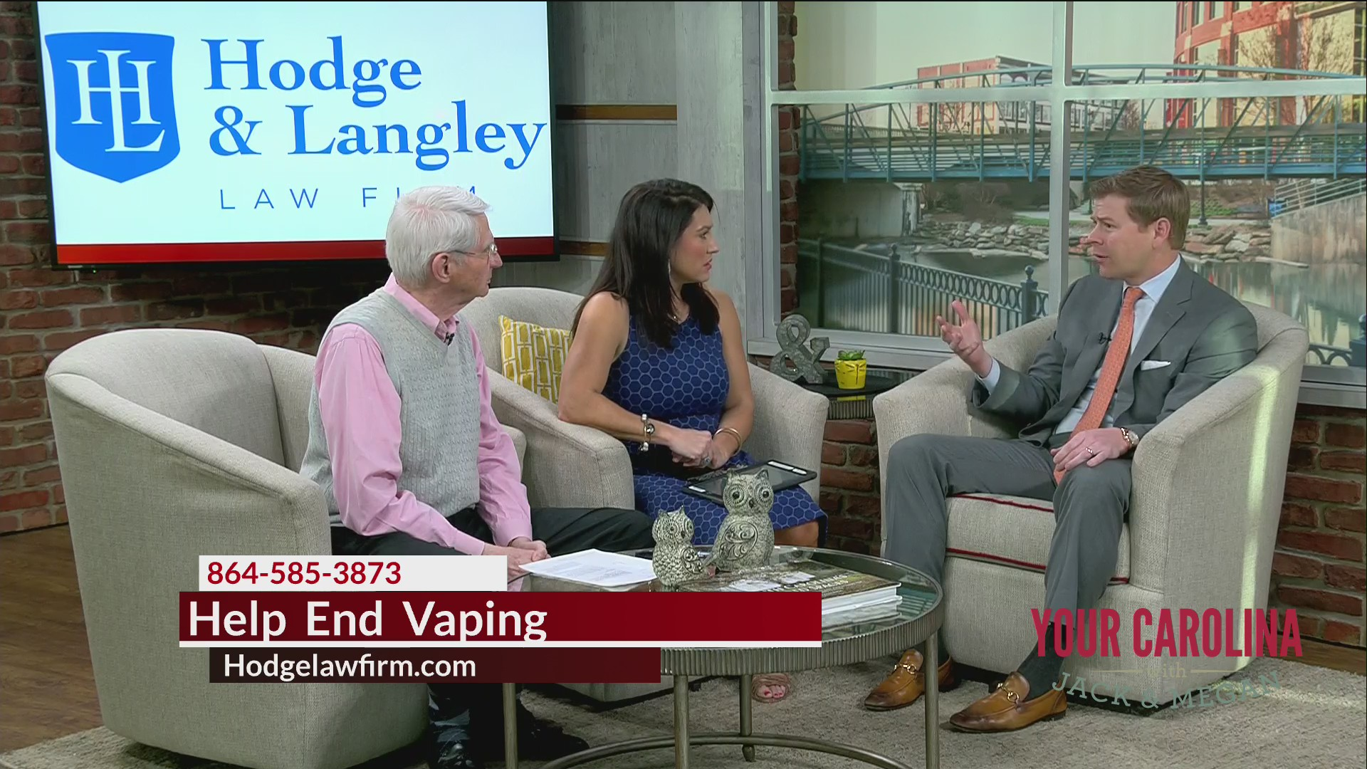 Hodge and Langley - Help End Vaping