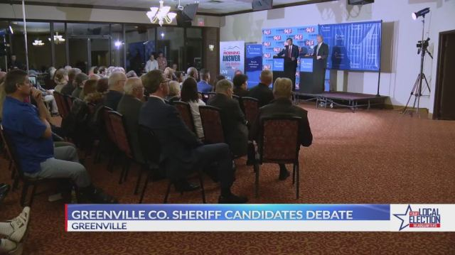 Republican candidates for Greenville Co. sheriff answer questions during public forum