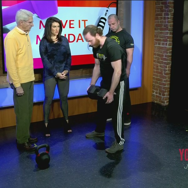Move It Monday - Learning About Deadlifting With TriFit Barbell