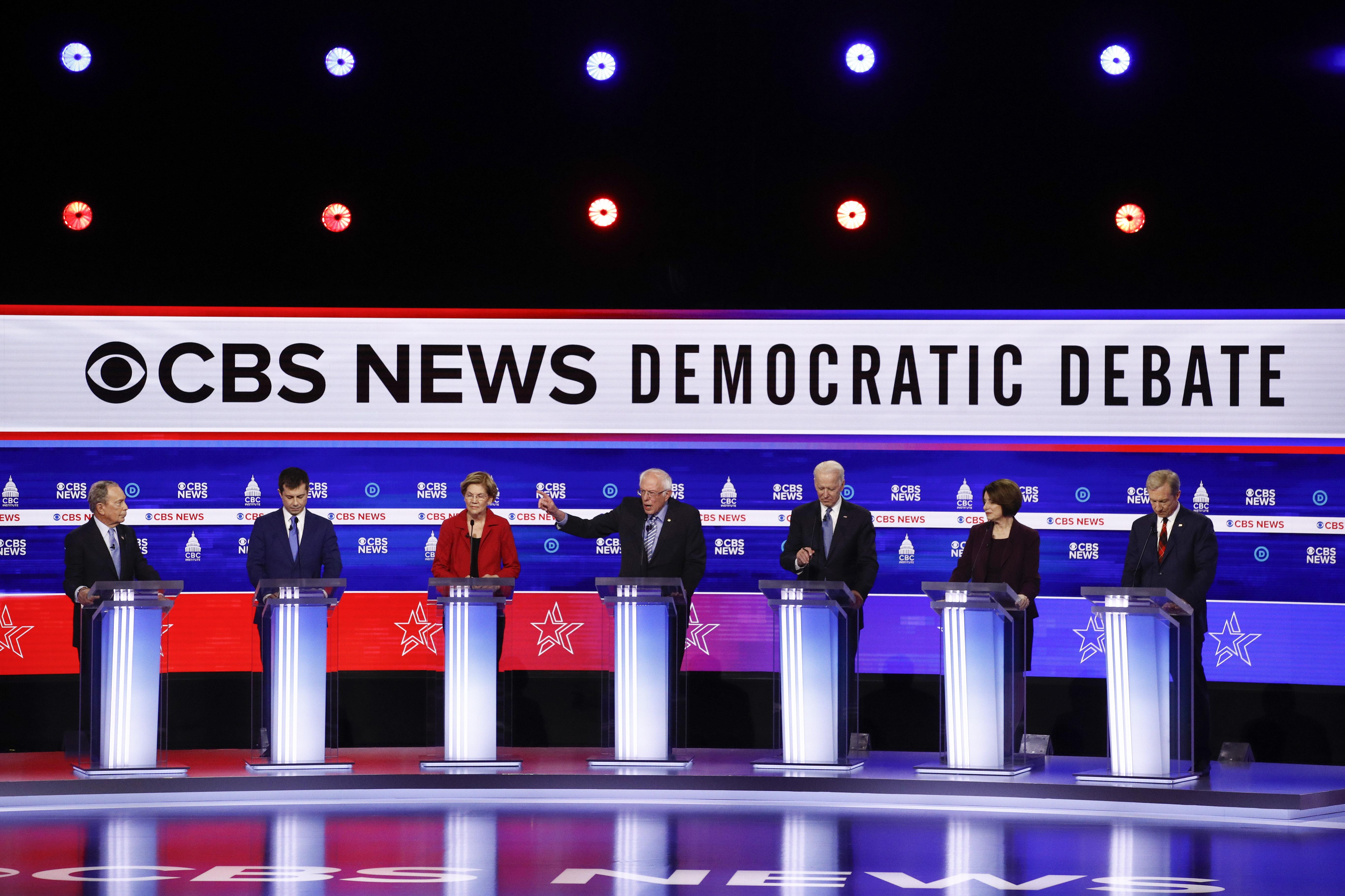 FULL RECAP: Democratic presidential hopefuls debate in South Carolina