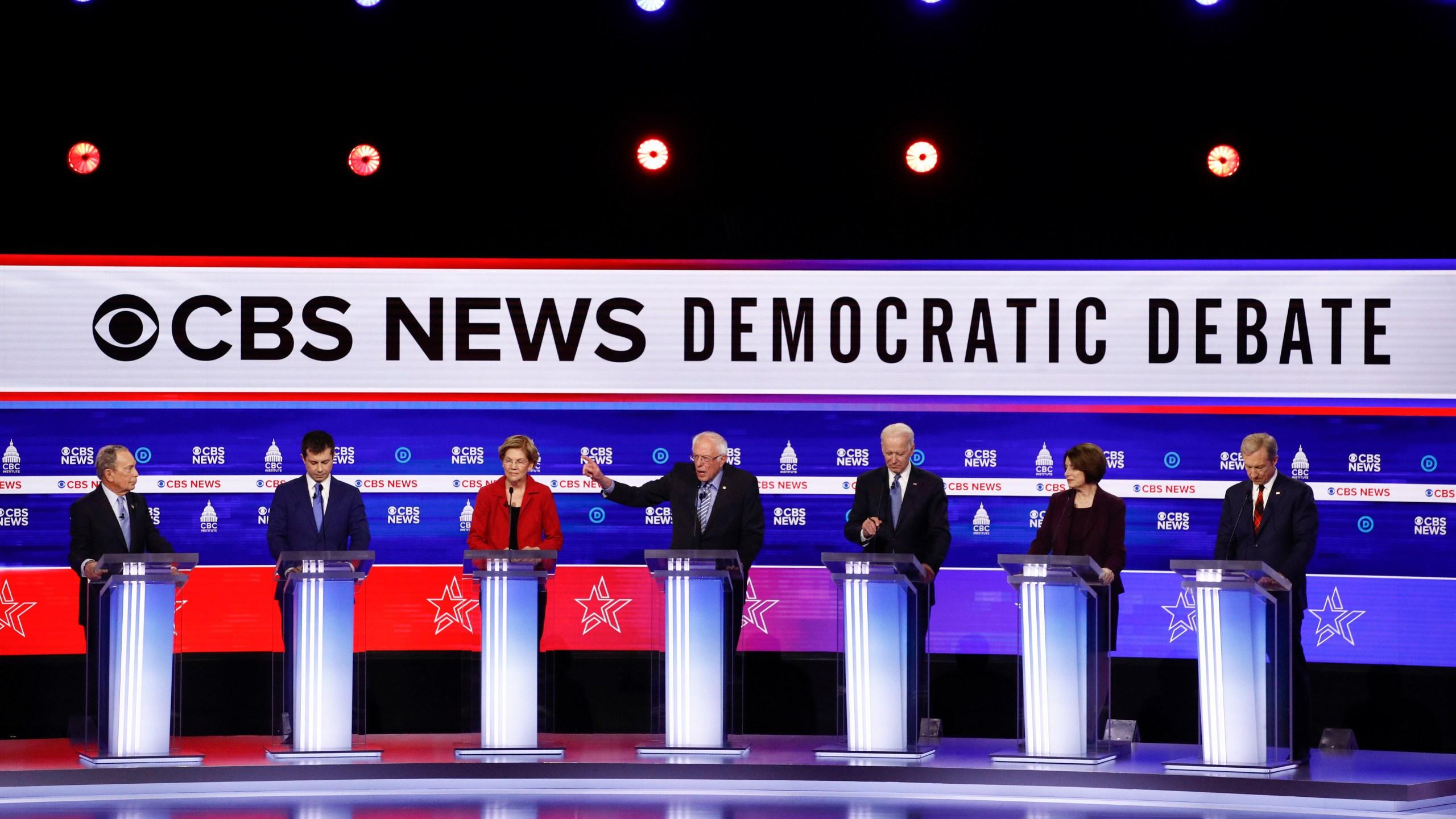 Live South Carolina Democratic Debate