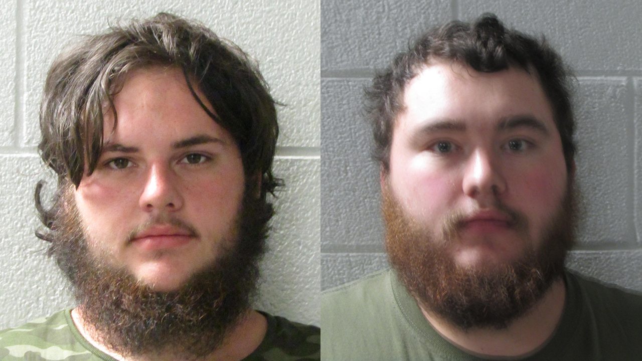 Richard McMahan (left) and Bryson Freeman (From: Henderson County Sheriff's Office)