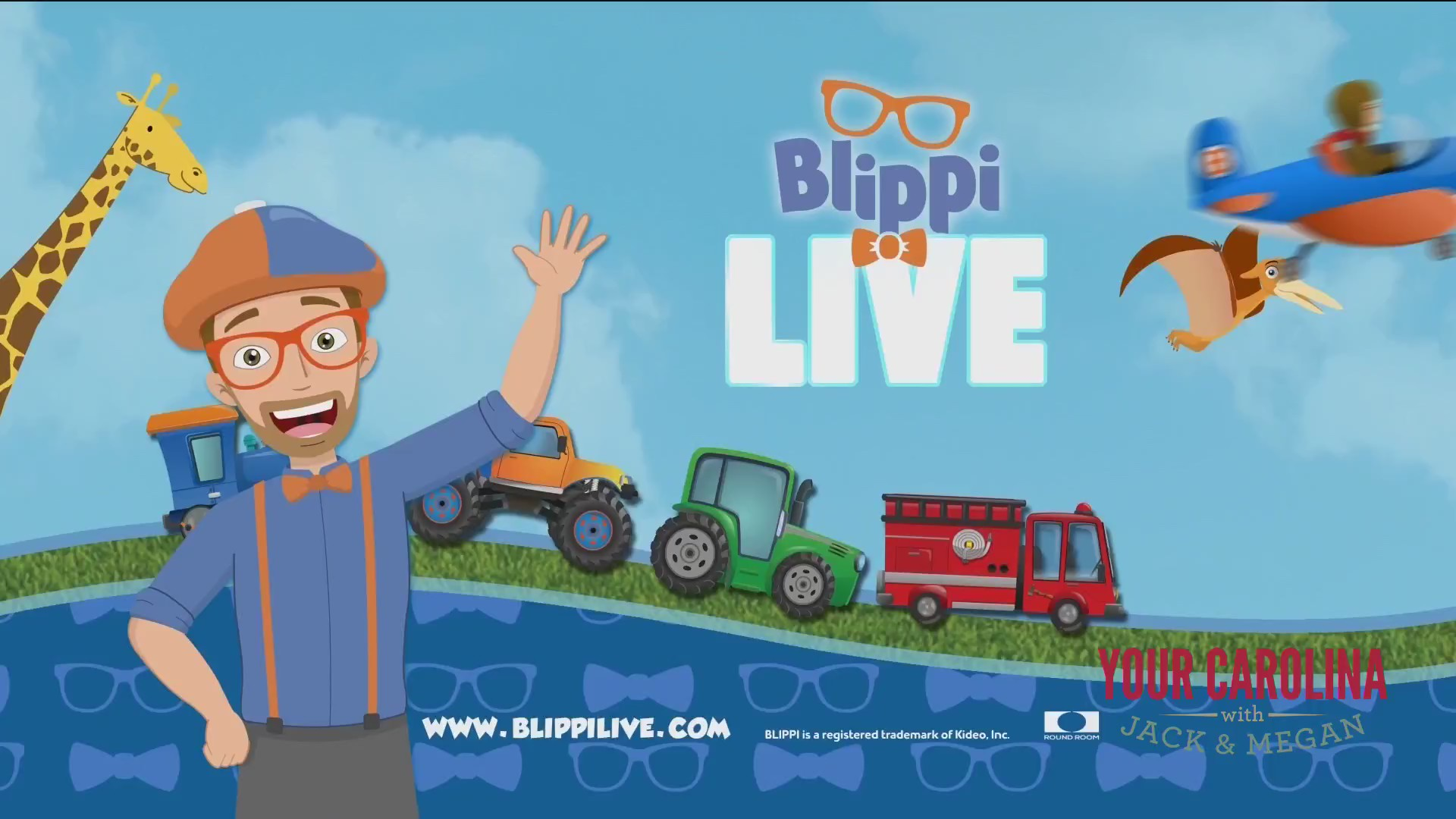 Blippi is Coming to Town