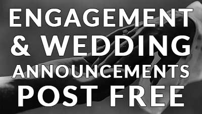 Engagement and Wedding Announcements
