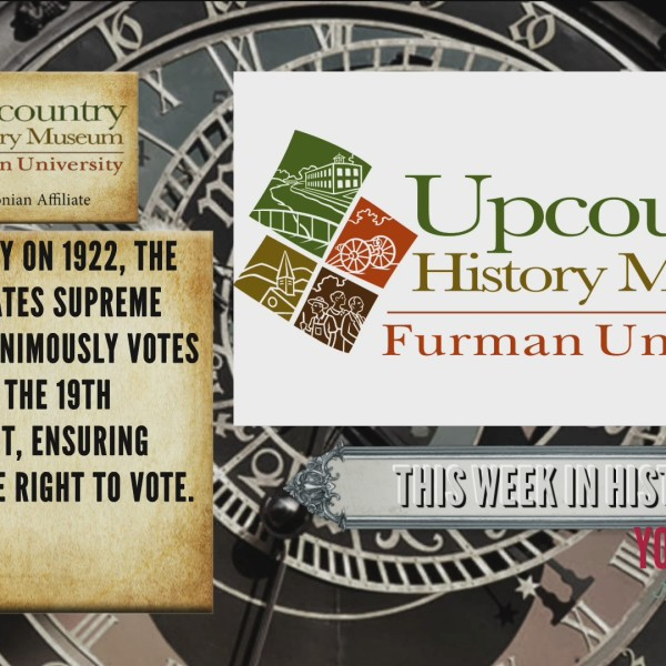 This Week In History - On This Day in 1922 Supreme Court Decision Upholds Women's Right To Vote