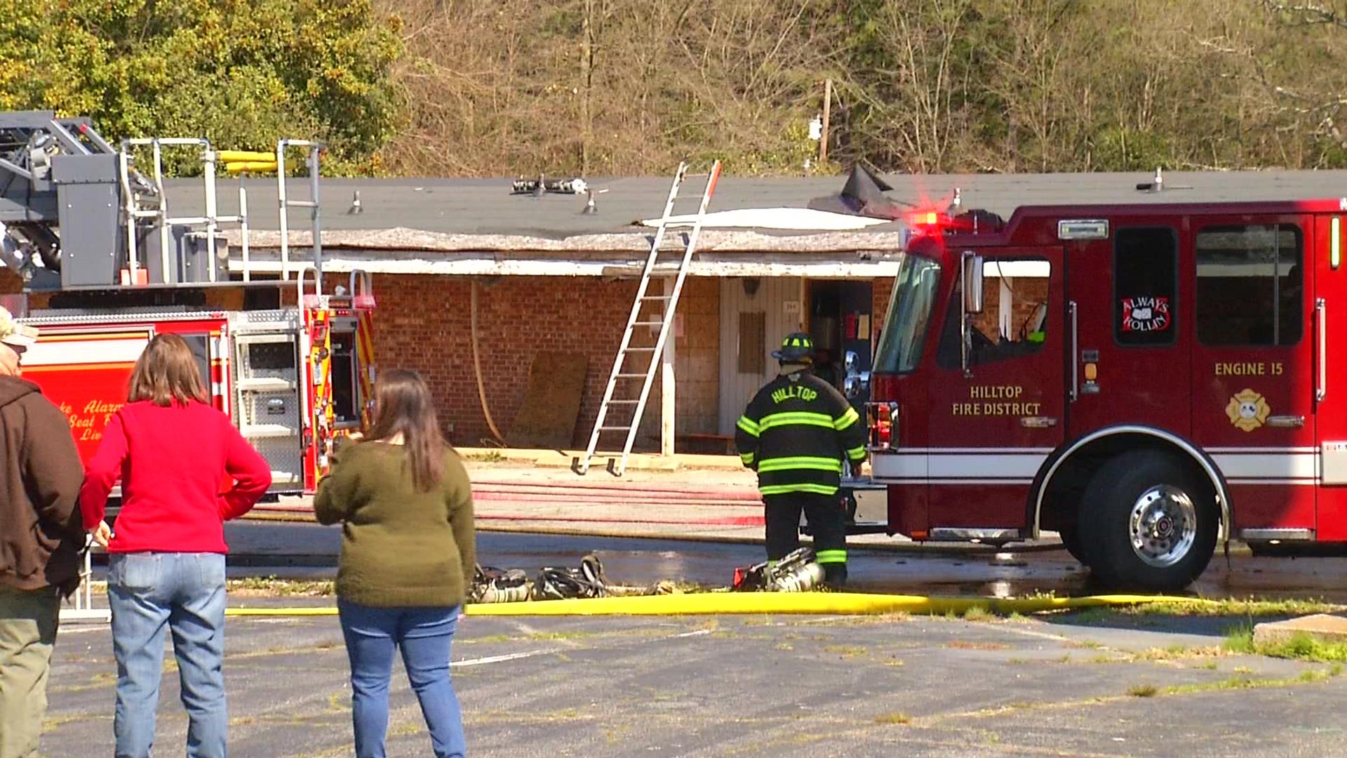 Spartanburg Motor Lodge fire