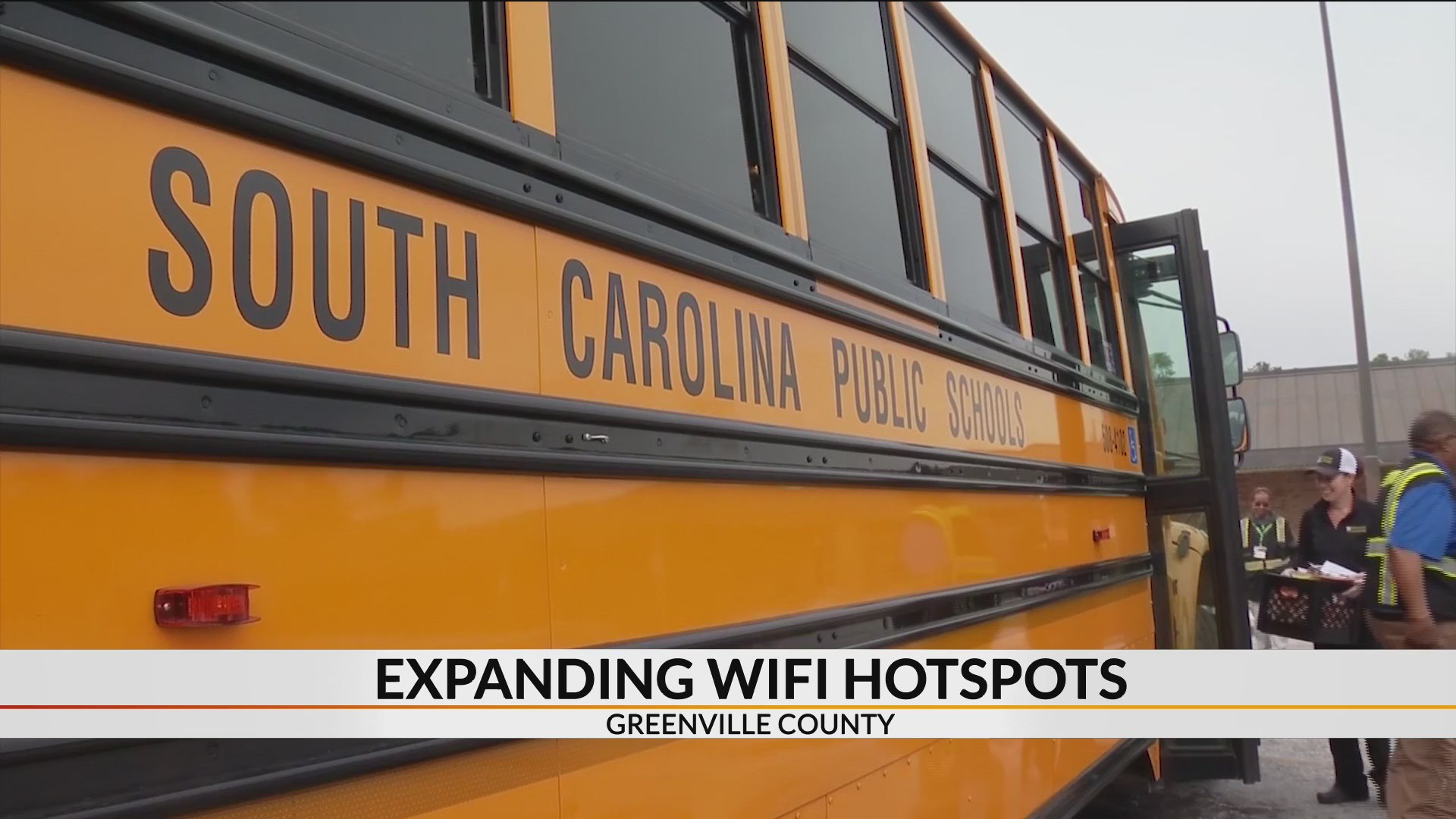 Greenville County Schools Adds 20 New Wi Fi Hotspots For Students