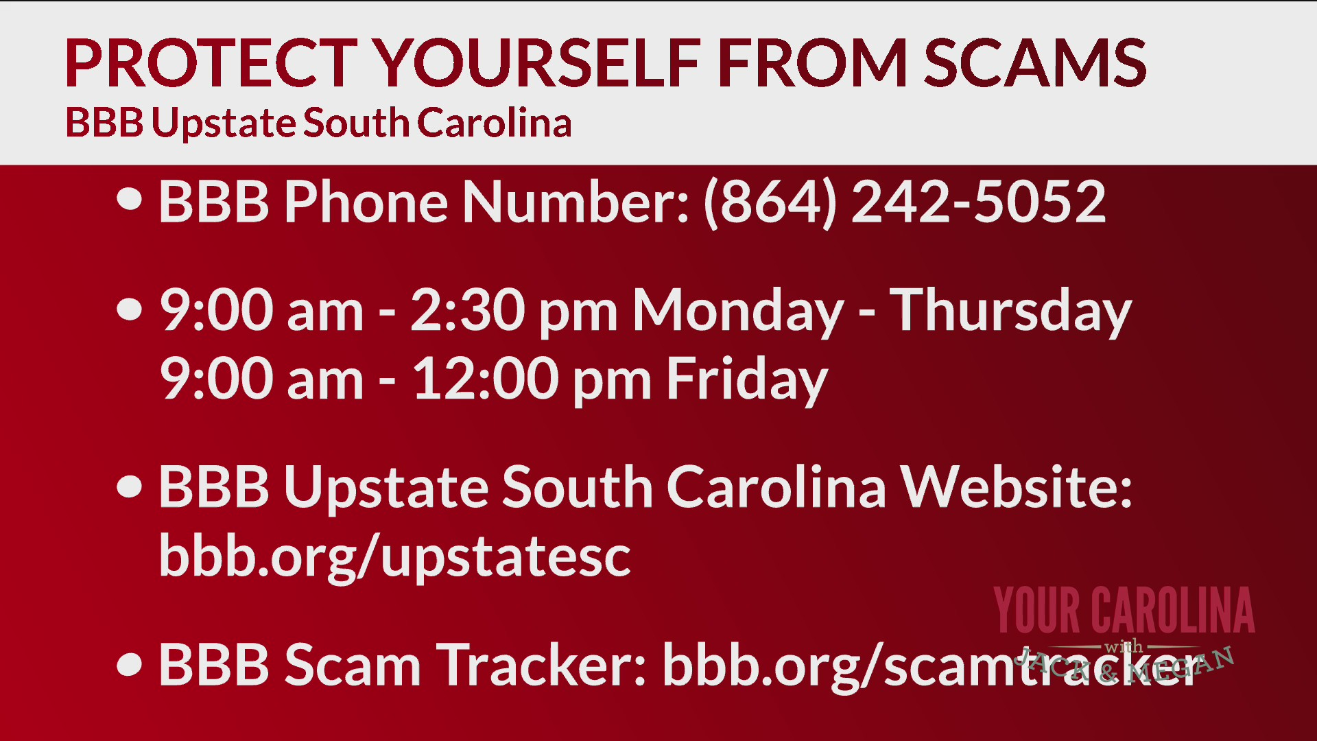 BBB Upstate says be on the lookout for Coronavirus scams