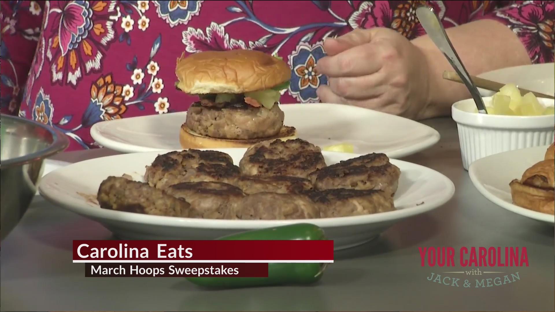 Hawaiian Teriyaki Burgers advance in the Carolina Eats March Hoops Recipe Sweepstakes