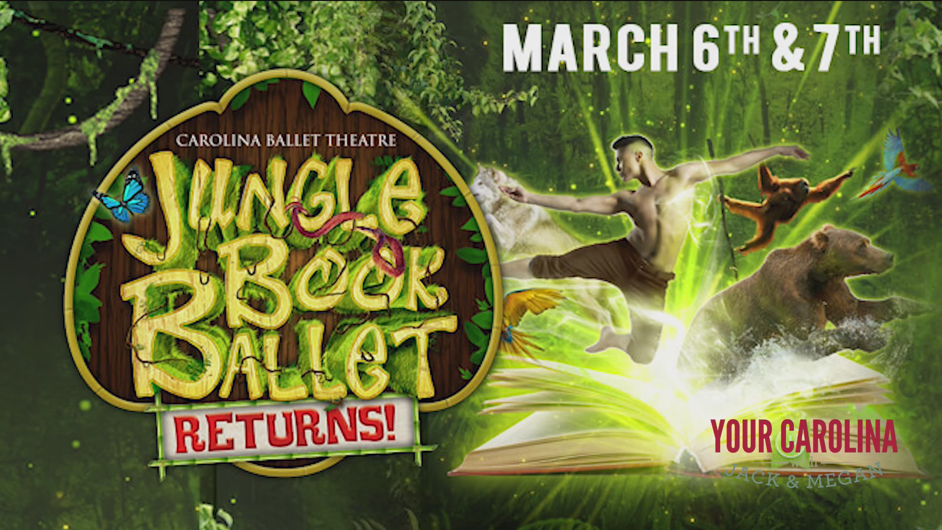 Carolina Ballet Theatre's Jungle Book Ballet Returns