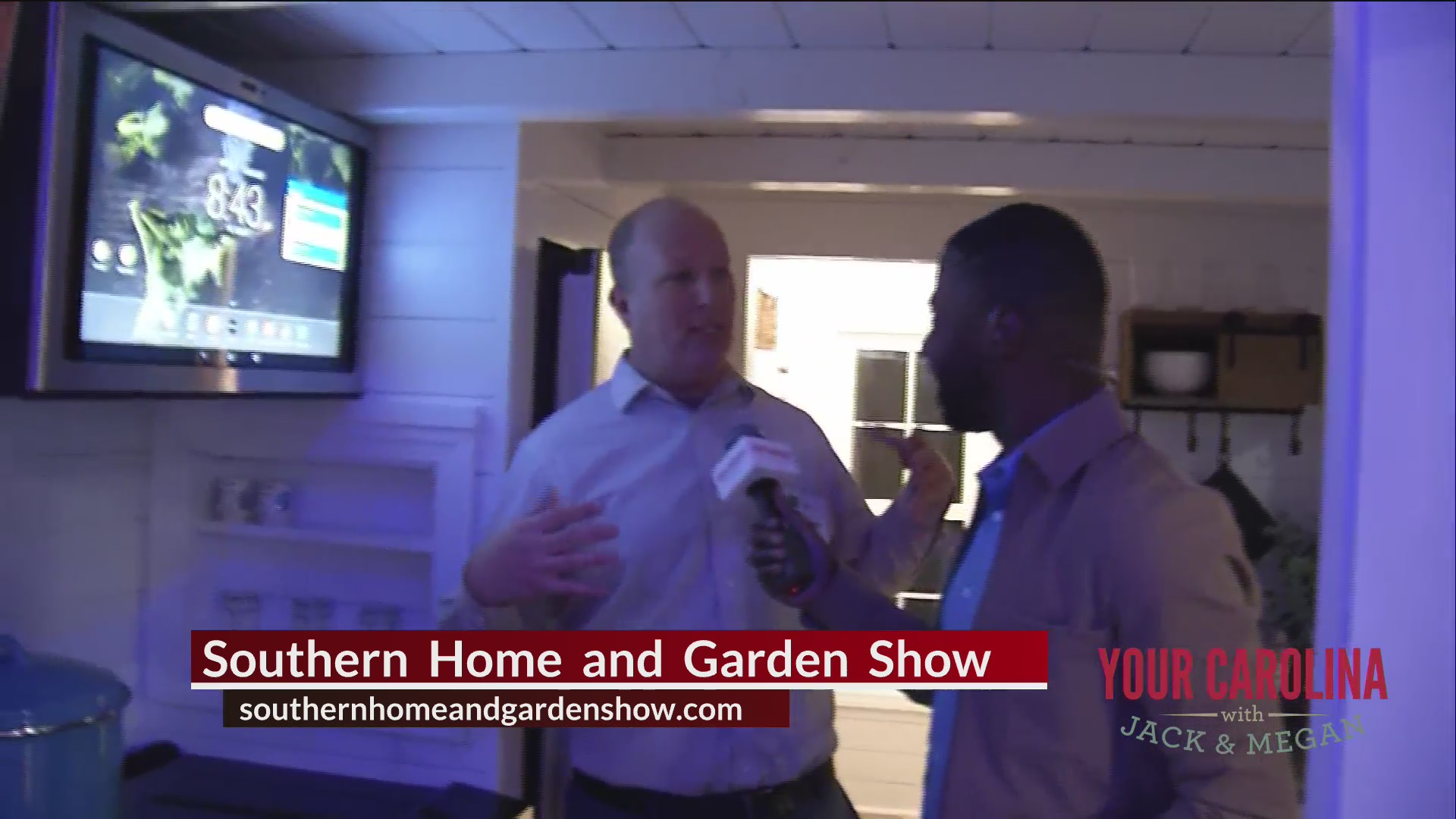 We Check Back In With Jamarcus Live From The Southern Home and Garden Show