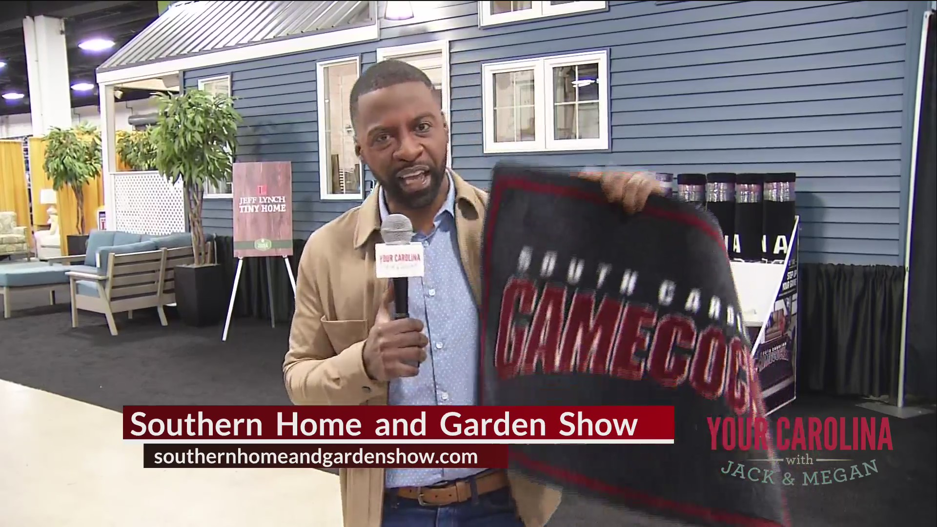 Jamarcus Is Live From The Southern Home and Garden Show At The Greenville Convention Center