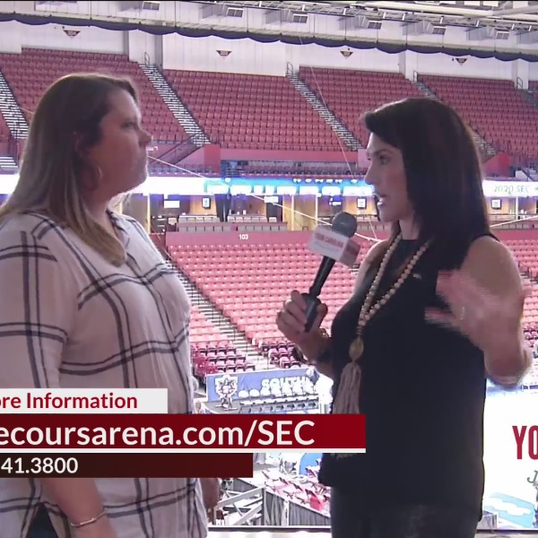 We Check Back In With Megan Live At The SEC Women's Basketball Tournament