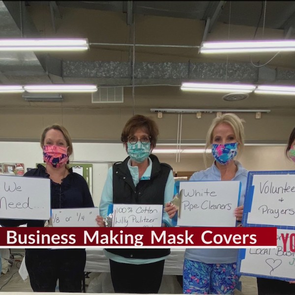 Local Business Making Mask Covers
