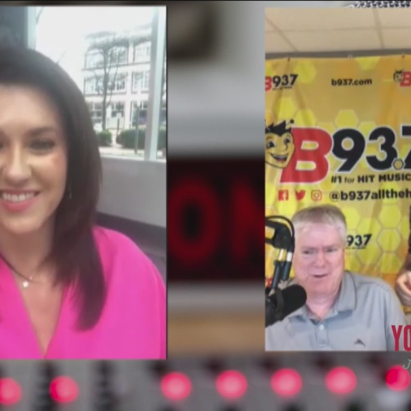 Megan Catches Up With Hawk And Tom From B93.7