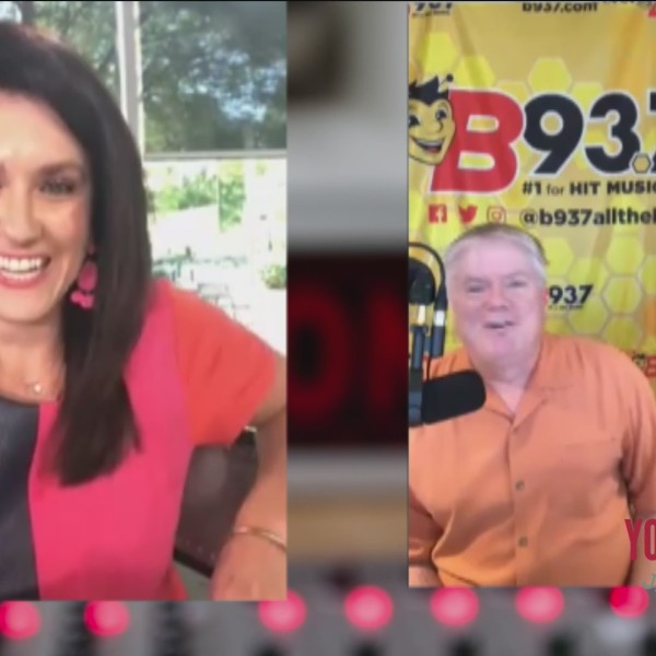 Megan Chats With Hawk and Tom from B93.7