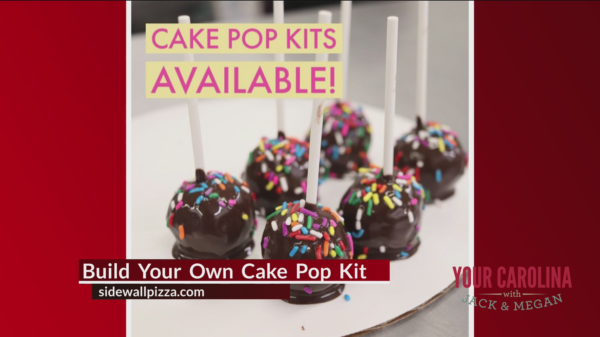 Fun To Go - Cake Pops and Giant Cookies
