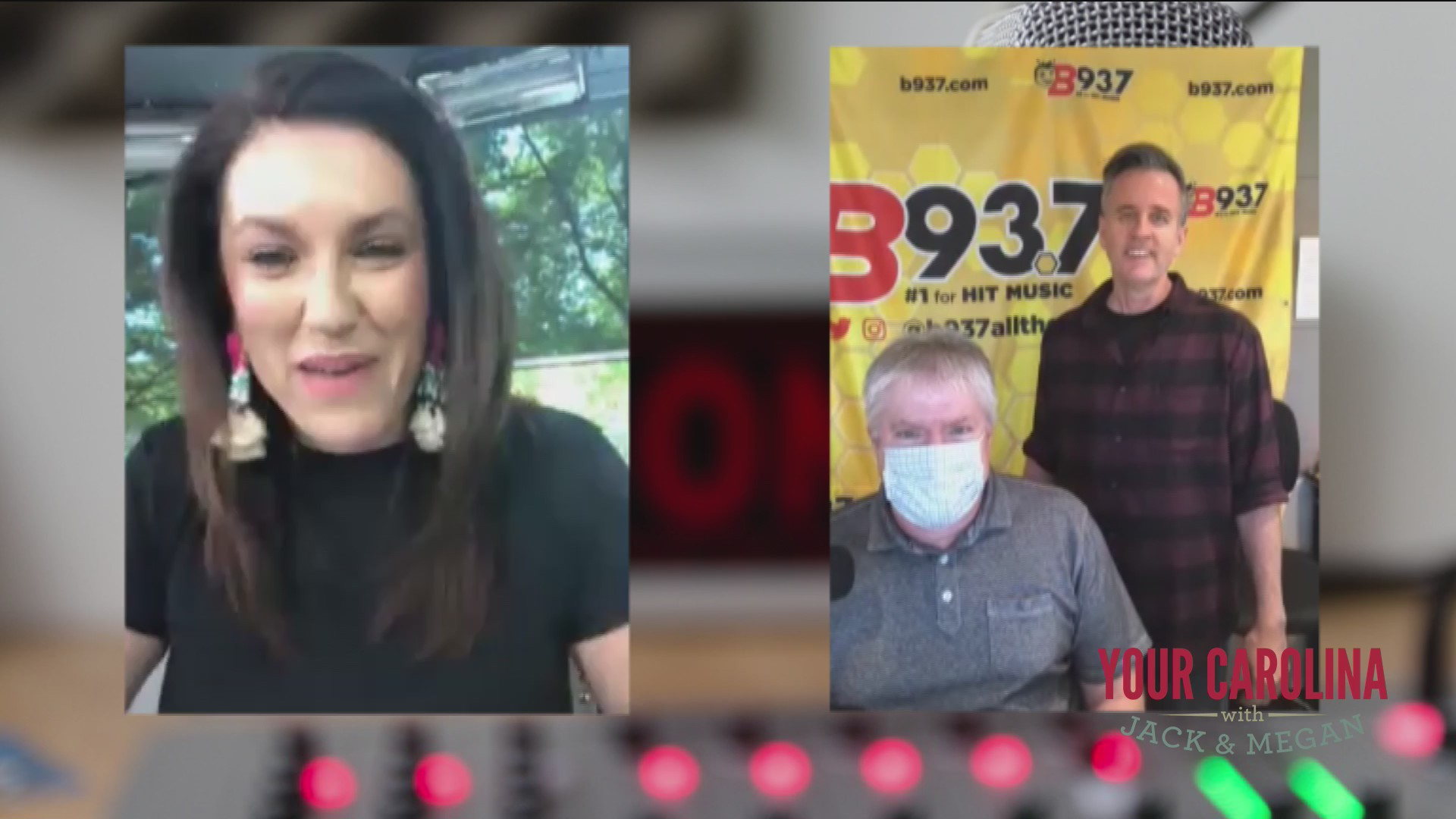 Megan Finds Out What Hawk And Tom From B93.7 Have Been Up To